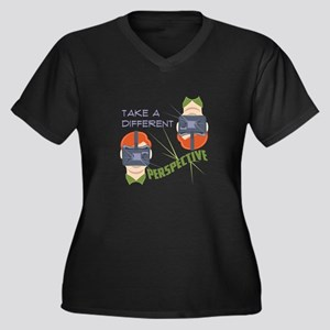 Different Perspective Plus Size T-Shirt