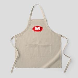 Wisconsin WI Euro Oval Apron