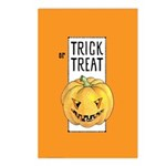 Halloween Trick or Treat Postcards (Package of 8)