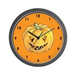 Halloween Trick or Treat Wall Clock
