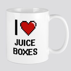I love Juice Boxes digital design Mugs