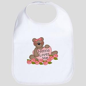 Nonno Loves Me CUTE Bear Bib