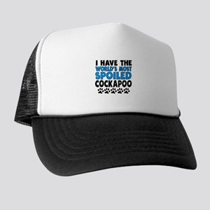 Worlds Most Spoiled Cockapoo Trucker Hat