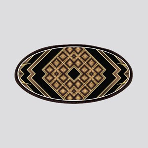 Art Deco Black Gold 1 Patch