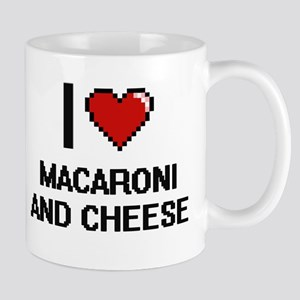 I love Macaroni And Cheese digital design Mugs