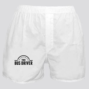 The Man The Myth The Bus Driver Boxer Shorts