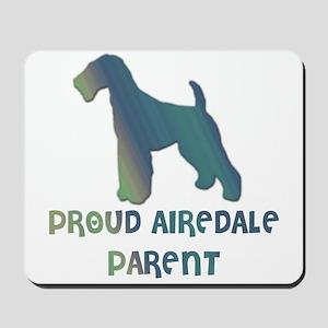 Proud Airedale Parent Mousepad