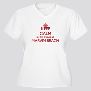 Keep calm by relaxing at Marvin Plus Size T-Shirt