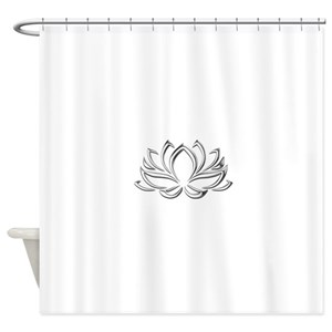 Lotus Shower Curtains