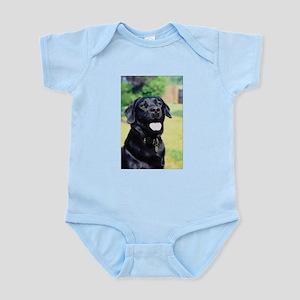 Black Lab Photo Infant Bodysuit