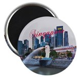 """Singapore 2.25"""" Magnet (10 pack)"""