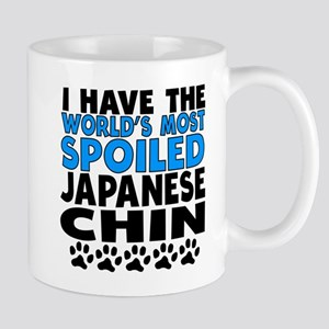 Worlds Most Spoiled Japanese Chin Mugs