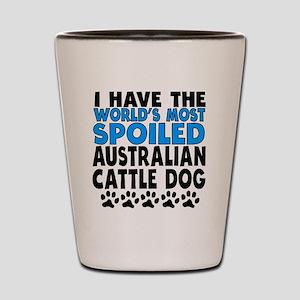 Worlds Most Spoiled Australian Cattle Dog Shot Gla