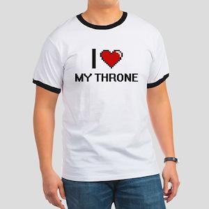I love My Throne digital design T-Shirt