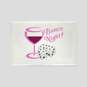 BUNCO NIGHT Magnets
