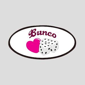 I LOVE BUNCO Patch