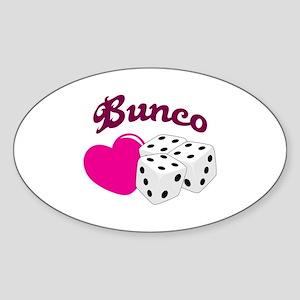 I LOVE BUNCO Sticker