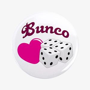 I LOVE BUNCO Button