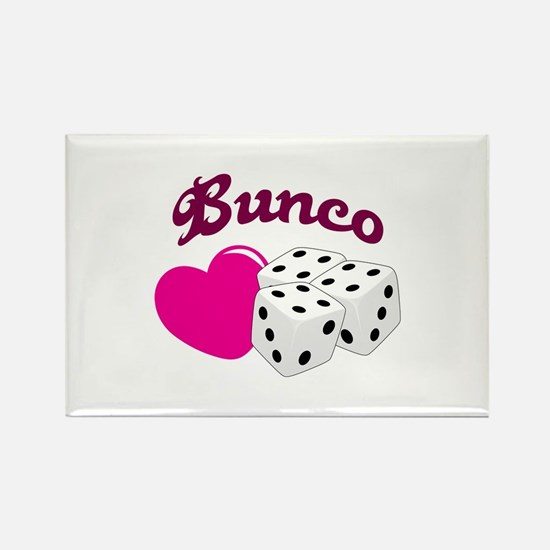 I LOVE BUNCO Magnets