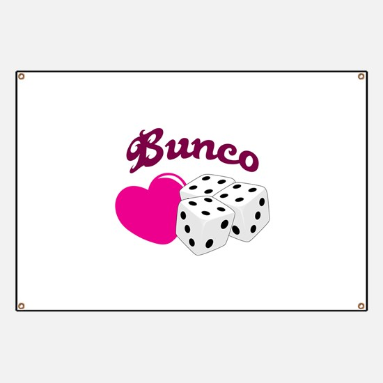 I LOVE BUNCO Banner