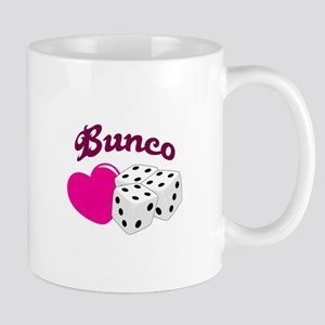 I LOVE BUNCO Mugs