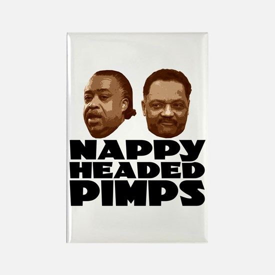 Nappy Headed Pimps Rectangle Magnet