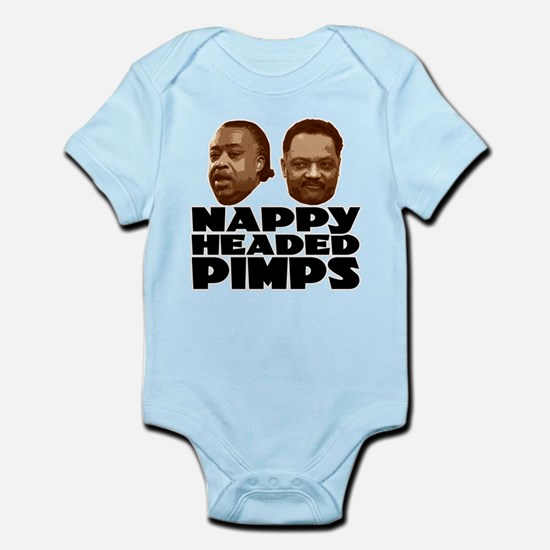 Nappy Headed Pimps Infant Bodysuit