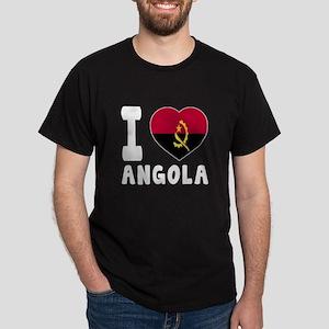 I Love Angola Dark T-Shirt