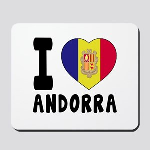 I Love Andorra Mousepad