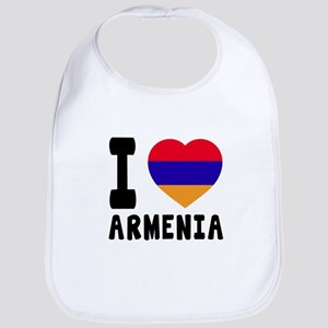 I Love Armenia Bib