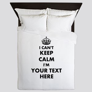 I cant keep calm Queen Duvet
