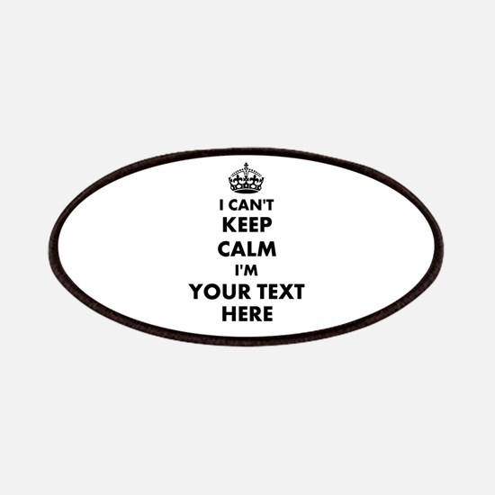 I cant keep calm Patch