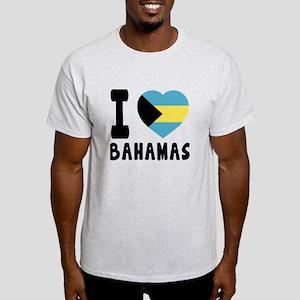 I Love Bahamas Light T-Shirt