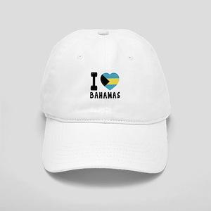 I Love Bahamas Cap