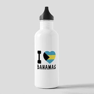 I Love Bahamas Stainless Water Bottle 1.0L