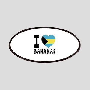 I Love Bahamas Patch