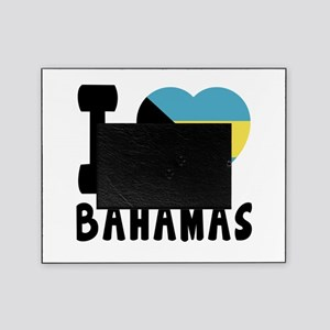 I Love Bahamas Picture Frame