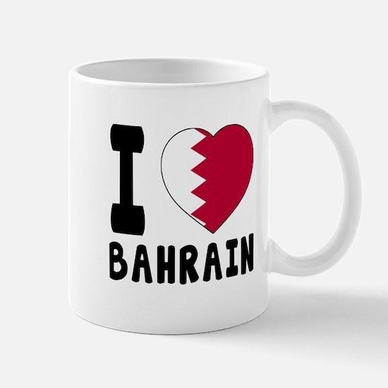 I Love Bahrain Mug