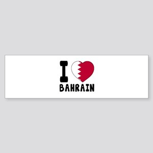 I Love Bahrain Sticker (Bumper)