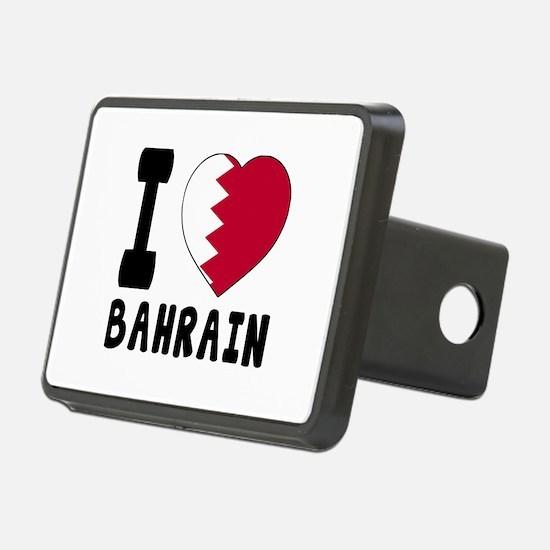 I Love Bahrain Hitch Cover