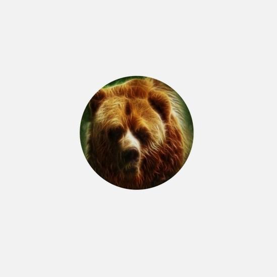 Bear Spirit Mini Button