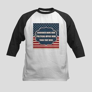 Personalized USA President Kids Baseball Jersey