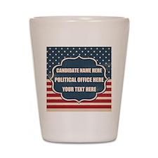 Personalized USA President Shot Glass