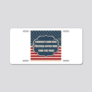 Personalized USA President Aluminum License Plate