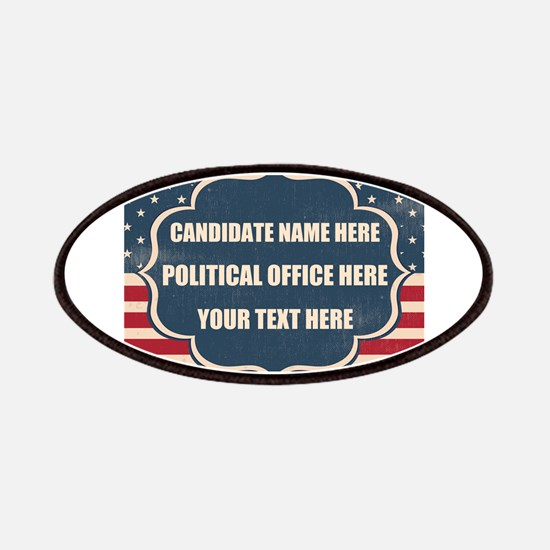 Personalized USA President Patch