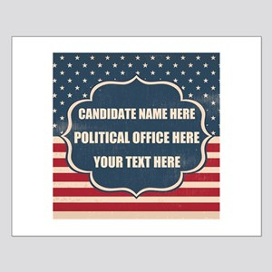 Personalized USA President Small Poster