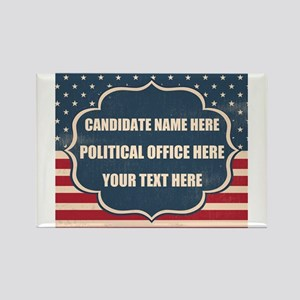 Personalized USA President Rectangle Magnet