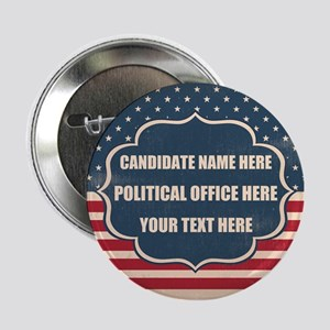 """Personalized USA President 2.25"""" Button"""