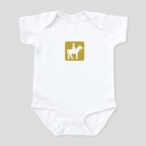 HORSEBACK RIDING Infant Bodysuit
