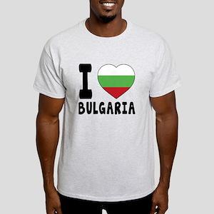 I Love Bulgaria Light T-Shirt